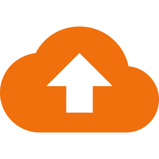 cloud backup up arrow